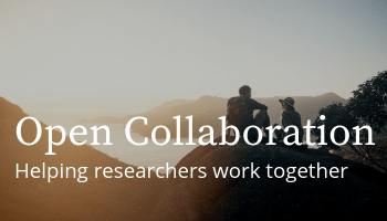 Open Collaboration: Helping researchers work together